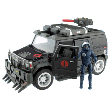 GI JOE and Bravo Vehicle with Figure