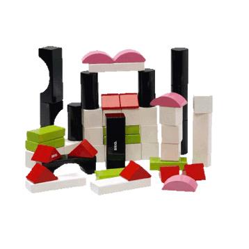 50 Coloured Blocks
