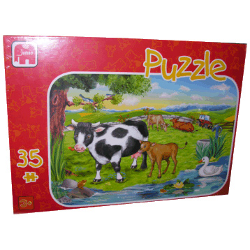 Childrens Puzzle At the Farm 35 piece