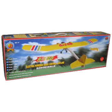 A-100 Electric Powered Radio Control Plane