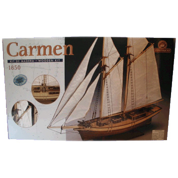 Carmen Boat Wooden Kit
