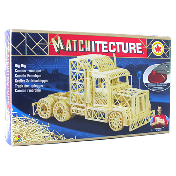 Trailer Truck Matchstick Kit