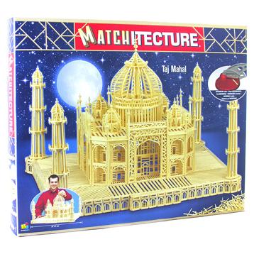 Taj Mahal Matchstick Kit