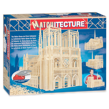 Notre Dame Cathedral Matchstick Kit