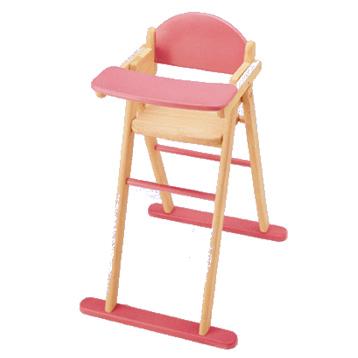 Wooden Dolls High Chair