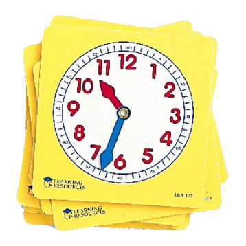 Pupil Clock Dials (Set of 10)