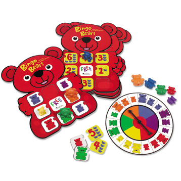 Three Bear Family Bingo Bears
