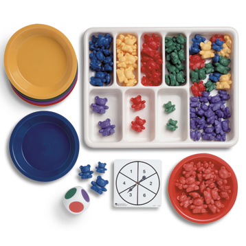 Three Bear Family Activity Set