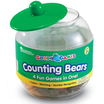 Goodie Games Counting Bears