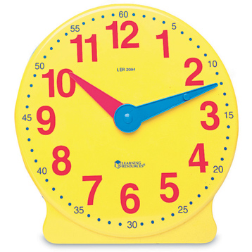 Big Time 12-Hour Student Clock