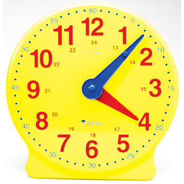 Big Time Learning Clock 24-Hour Demonstration Clock
