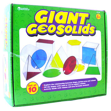 Giant GeoSolids