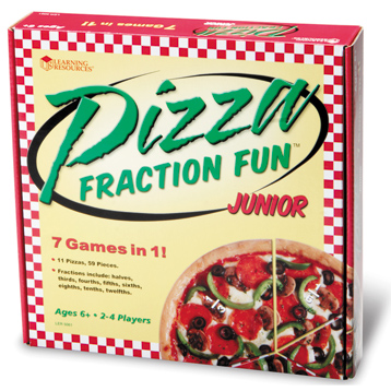Pizza Fraction Fun Jr