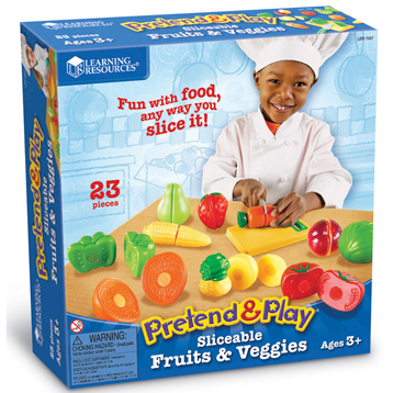 Pretend & Play Sliceable Fruits and Veggies