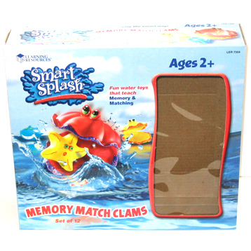 Smart Splash Memory Match Clams