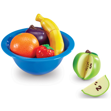 Smart Splash Counting Fun Fruit Bowl