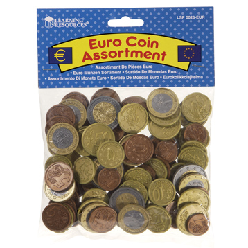 Toy Euro Coins