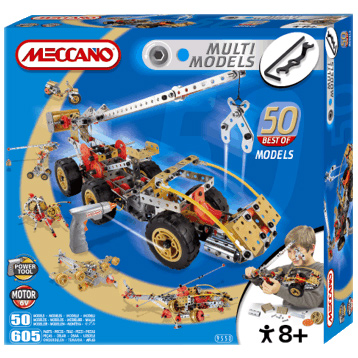 Multi Model 50 Model Set With Motor