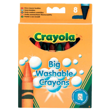 Big Washable Crayons