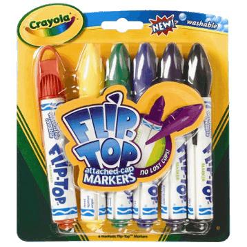 Flip Top Marker Pens