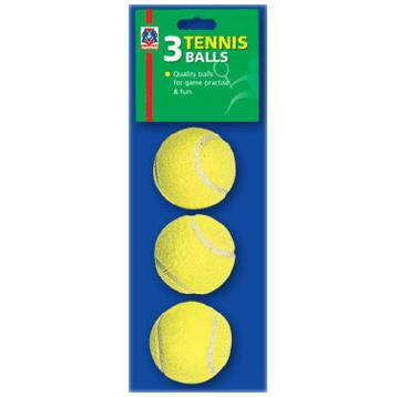 3 Tennis Balls In Bag