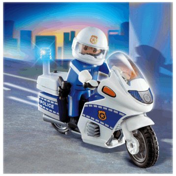 Motorcycle Patrol 4262