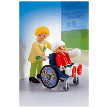 Child With Wheelchair 4407
