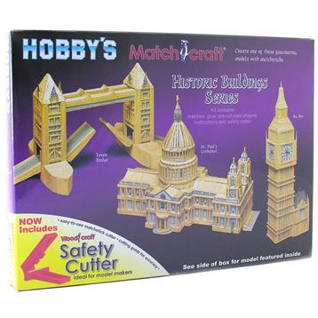 Tower Bridge Matchstick Model