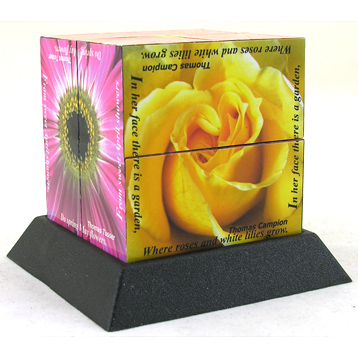 Flowers Therapy Cube