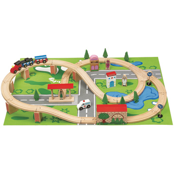 50 Piece Train Set & Playmat