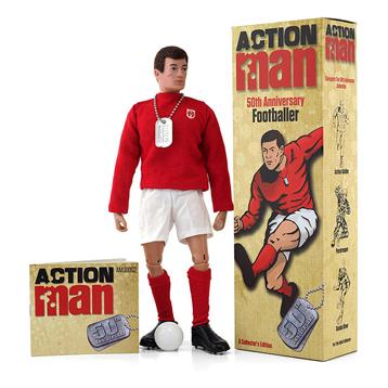 Action Man Footballer Figure