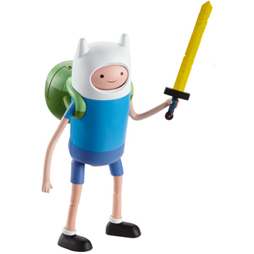 "Adventure Time 10"" Super Poseable Finn"