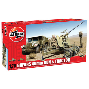 Bofors 40mm Gun & Tractor