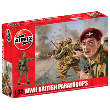 WWII British Paratroopers 1:32