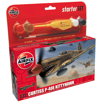 Curtiss P-40E Kittyhawk Gift Set