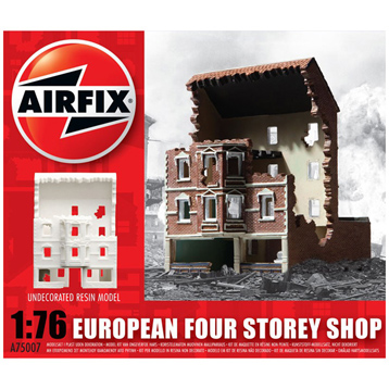 WWII European Four Storey Shop