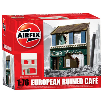 European Ruined Cafe 1:76