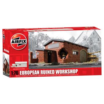 European Ruined Workshop 1:76