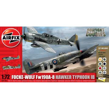 Focke Wulf Fw190A-8 Hawker Typhoon IB