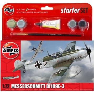 Messerschmitt Bf109E-3 Starter Set