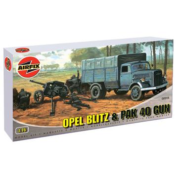 Opel Blitz & PAK40 Gun