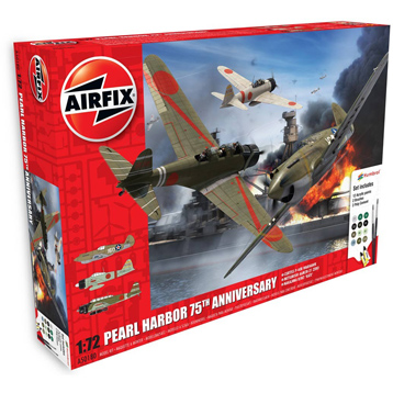 Pearl Harbour 75th Anniversary Model Kit (Scale 1:72)