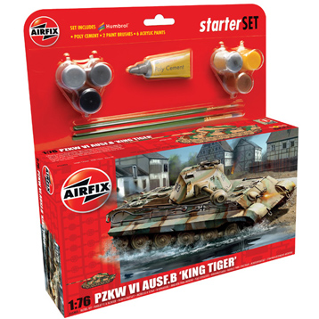 King Tiger Tank Starter Set