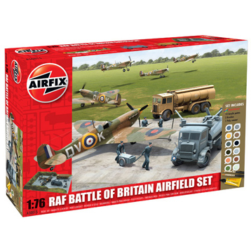 RAF Battle of Britain Airfield Set 1:76