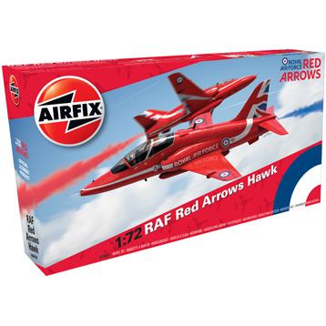 RAF Red Arrows Hawk (Scale 1:72)