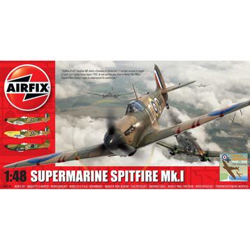 Supermarine Spitfire Mk.I (Scale 1:48)