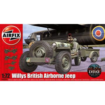 Willys British Airbourne Jeep