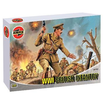 WWI British Infantry 1:72