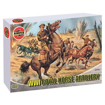 WWI Royal Horse Artillery 1:72