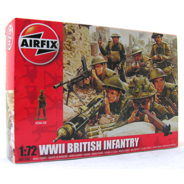 WWII British Infantry Northern Europe 1:72